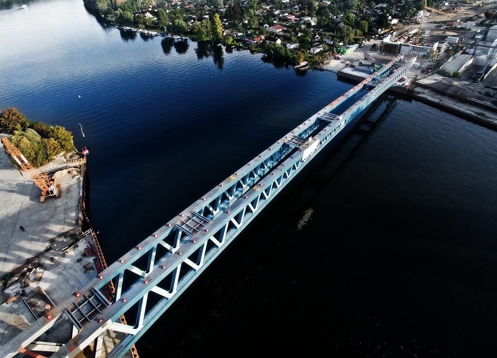 Neubau der Spreebrücke im Zuge der Süd-Ost-Verbindung (SOV), Berlin