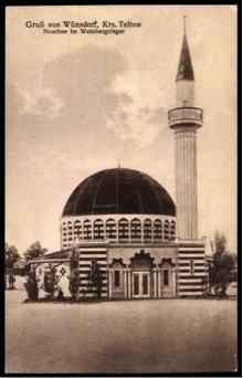 Halbmondlager Waldstadt Wuensdorf Moschee