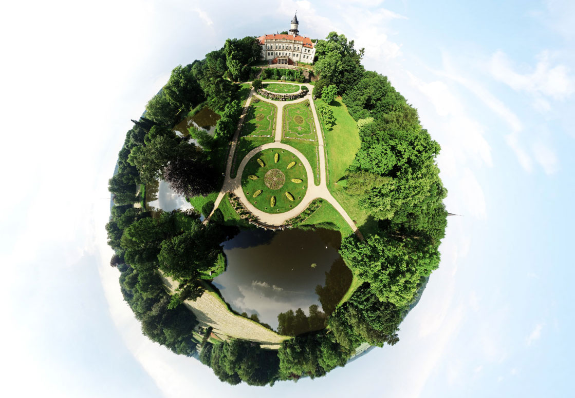 Little Planet Schlosspark Wiesenburg